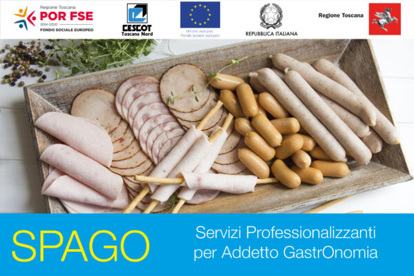 Corso SPAGO - Servizi Professionalizzanti Addetto GastrOnomia